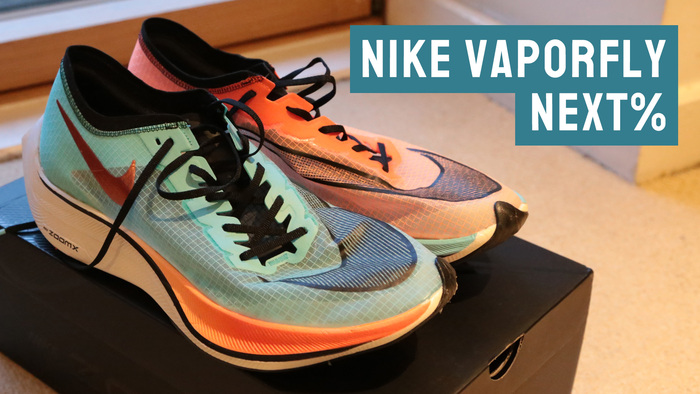 Nike Vaporfly Next% running shoes